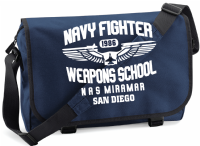 NAVY FIGHTER SCHOOL M/BAG - INSPIRED BY TOP GUN TOM CRUISE